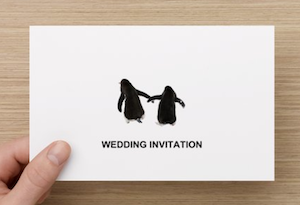 May Wedding Invitation
