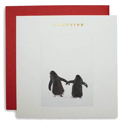 Penguin Valentine's Card